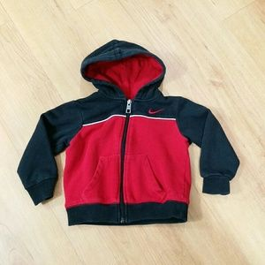 Nike Baby boys zip up hoodie Size 24 Months